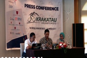 Krakatau Granfondo Gowes Sekaligus Perkenalkan Wisata Banten