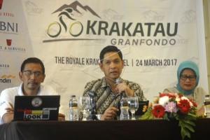 Krakatau Granfondo Ajang Promosi Banten Lewat Sepeda