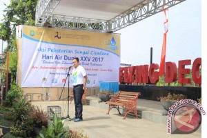 Flying Deck Cisadane Jadi Lokasi Peringatan Hari Air Dunia ke - 25