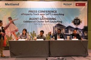 Metland Dan Rumah.Com Kerjasama Pasarkan Produk Properti