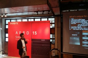 Gigabyte Luncurkan Laptop Spesifikasi Tinggi Tetapi Ringan