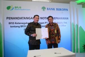 BPJS  Ketenagakerjaan Gandeng Bank Bukopin Tingkatkan Layanan