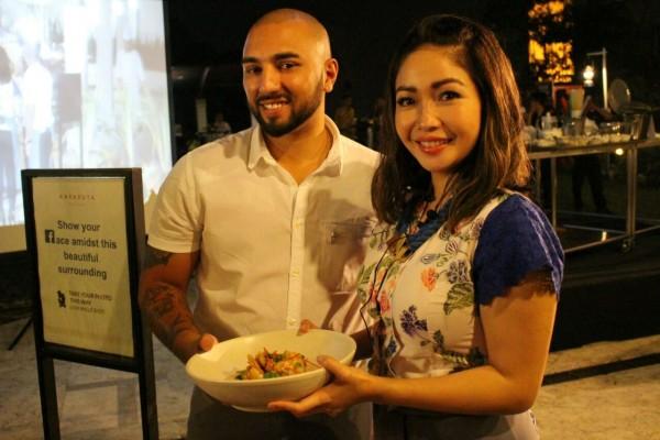 Chef Marinka Unjuk Kebolehan Olah Menu Nusantara