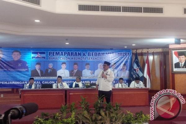 Sekda Banten Paparkan Visi Misi Cawalkot Serang