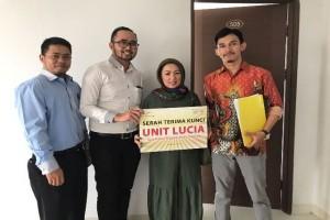PLI Kembali Serahterimakan Unit Apartemen MPS