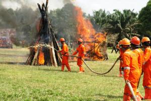 Sampoerna Agro Kembali Siapkan Desa Siaga Api