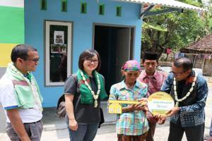 USG Boral Serahterimakan Lima Rumah Hasil Restorasi