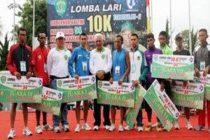 Dispora Lebak Agendakan Lomba  Lari Nasional