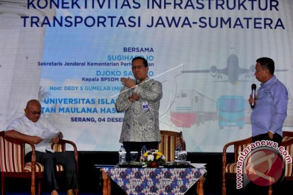 Koneksi Infrastruktur Jawa-Sumatera
