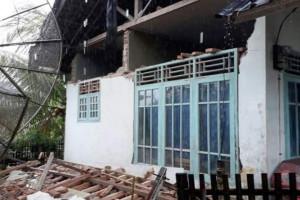 Bangunan Rusak Di Kabupaten Lebak Akibat Gempa