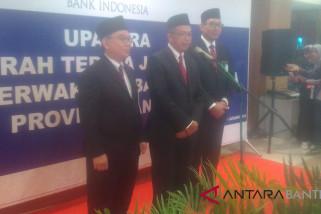 Rahmat Hernowo Jabat Kepala Perwakilan BI Banten