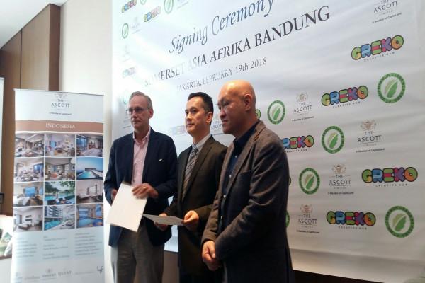 Somerset Hadir Di The Greko Bandung