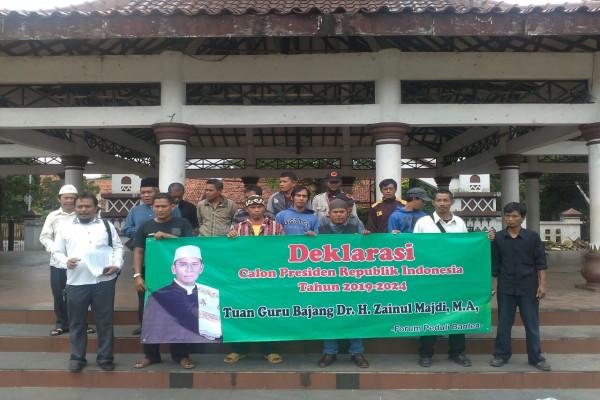 Forum Peduli Banten Deklarasikan Dukung TGB Capres