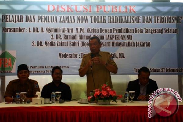 Diskusi Publik  Tolak  Bahaya Radikalisme dan Terorisme