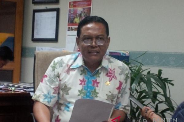 BPKAD Banten Labelisasi Kendaraan Dinas Amankan Aset