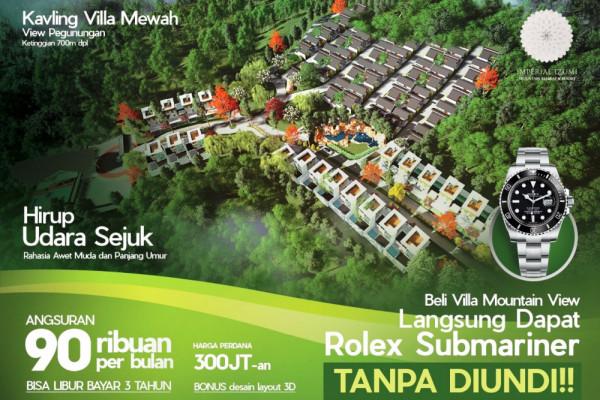AKI Bangun Vila Di Jatim Dan Bali