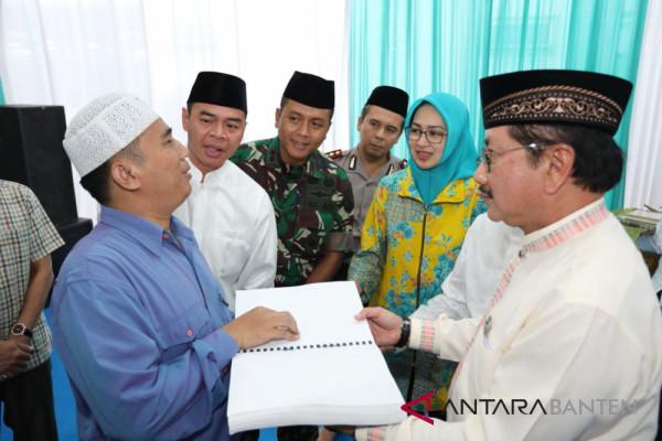 Indahkita Wakafkan Ribuan Mushaf Al Quran Di Tangsel