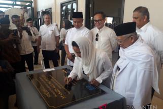Menteri BUMN Resmikan Masjid