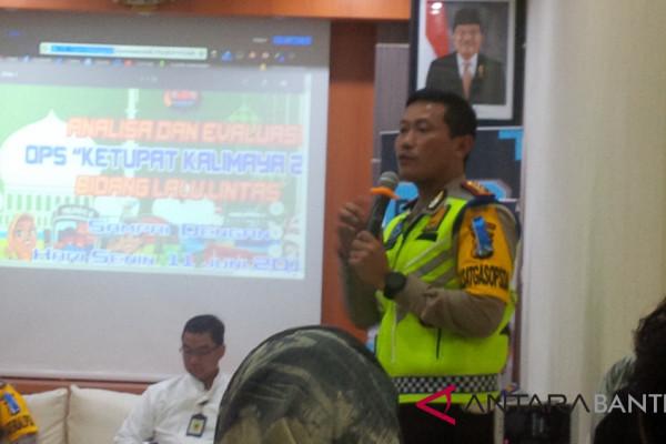 Arus Mudik - Kecelakaan Lalin Mudik Di Banten Turun
