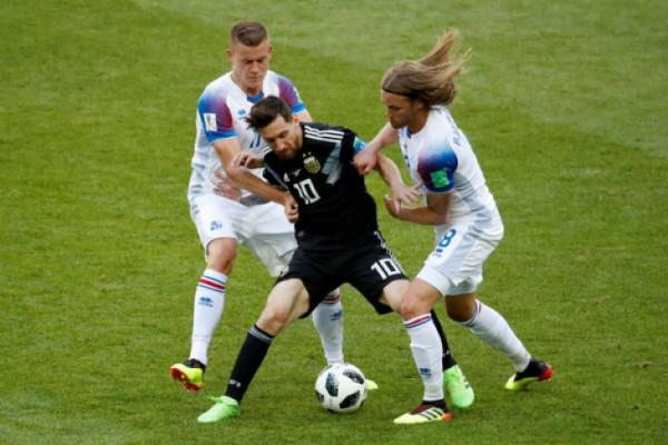 Piala Dunia - Pelatih Argentina Akui Timnya Kurang Kreativitas Saat Gagal Taklukkan Islandia