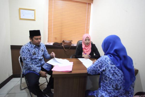 70 Pegawai Tangerang Ikuti Ujian Penyesuaian Ijasah