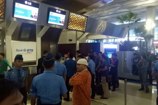Satu Orang Terluka Ledakan Senpi di Bandara Soetta