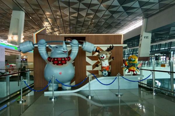 Asia Games - Bandara Soetta Didesain Meriah Sambut Asian Games