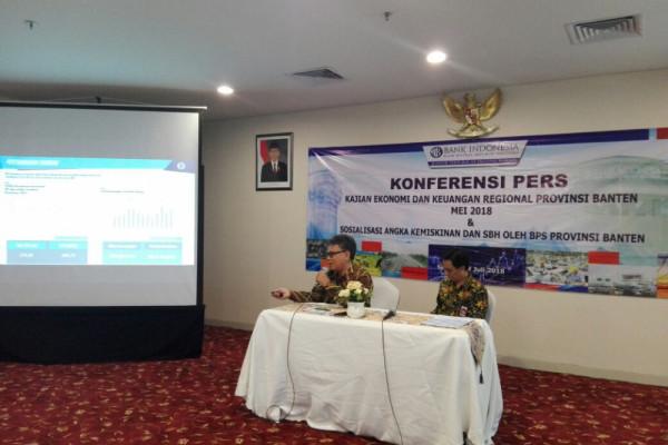 Ekonomi Banten Triwulan I Tumbuh  5,95 Persen