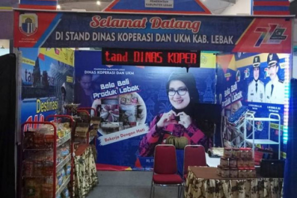 Produk UKM Lebak Diminati Pasar Tangerang