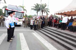 Haji - Tangerang Tanggung Operasional Antar-Jemput Ke Embarkasi