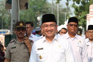 Wagub Laporkan Revitalisasi  Banten Lama Capai 40 Persen