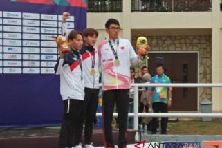 Asian Games (Pentathlon) - Atlet Korea Sandingkan Emas Dan Perak