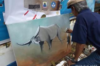 Seniman Lukis Banten Dambakan Pasar Seni