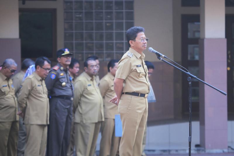 Sachrudin: Pegawai Bolos Apel Pagi Dipotong Tunjangan Prestasi Kerjanya