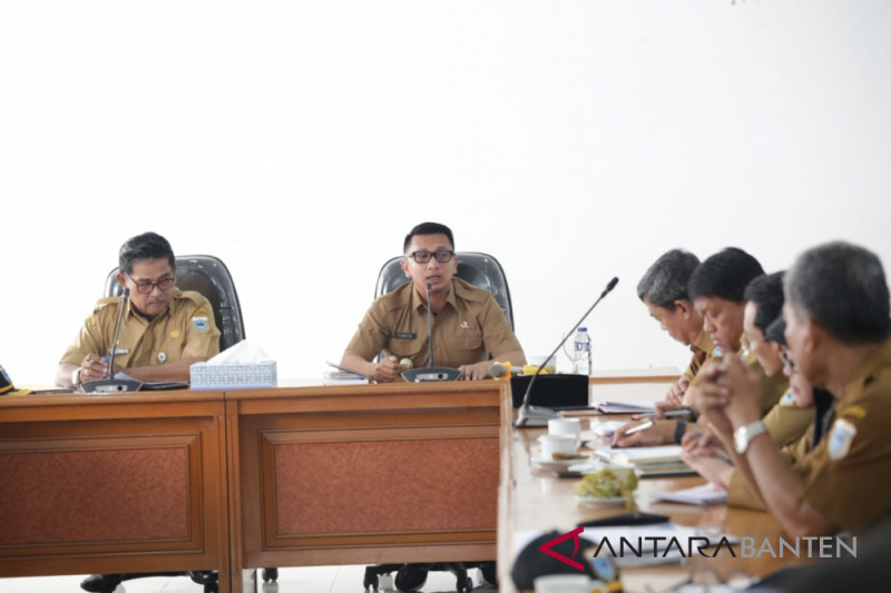 Wakil Bupati Pandeglang Instruksikan Penyerapan Anggaran Maksimal