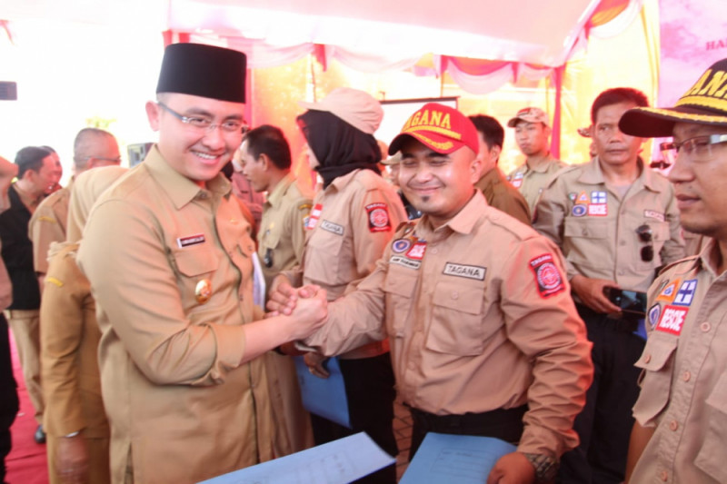 Wagub Banten Apresiasi Relawan Tagana Banten Untuk Palu