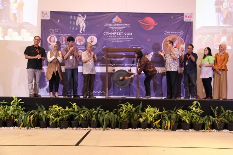 Commfest UPJ 2018 Menginspirasi Mahasiswa Menjadi Creativepreneur