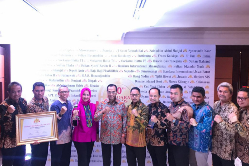 Bandara Soekarno-Hatta Kembali Raih Best Aiport Of The Year 2018