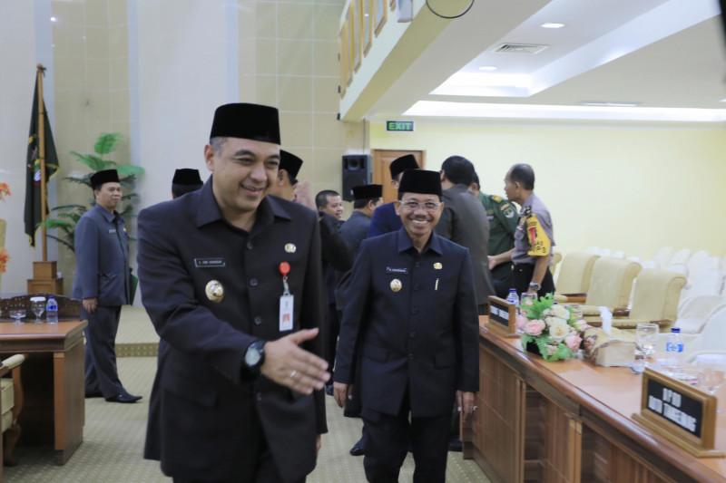 Pemkab Serahkan Stadion Benteng Ke Pemkot Tangerang