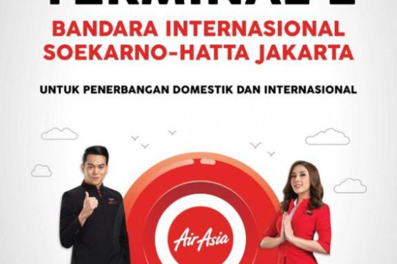 AirAsia Pindah ke Terminal 2 Bandara Soekarno-Hatta