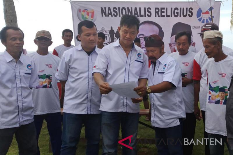 Deklarasi Dukungan CBI Banten Untuk Jokowi-Maruf Amin