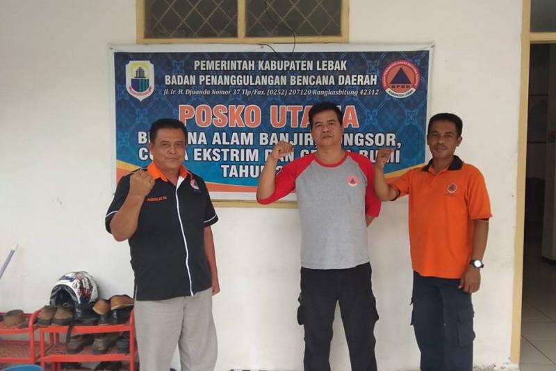 Personel BPBD Dan Relawan Siaga Di Posko Utama