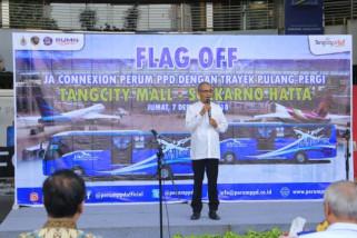 Dishub: Ketersediaan Bus Rute Tangcity - Bandara Soetta Kurangi Kemacetan