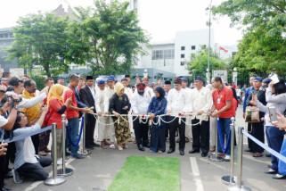 Pemkab Lebak Luncurkan E-Retribusi  Pasar Dan Parkir