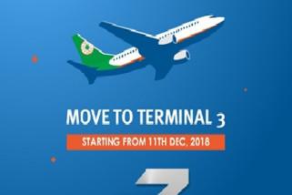 Besok, EVA Air Pindah ke Terminal 3 Bandara Soekarno-Hatta