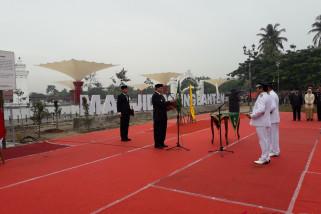 Gubernur Pertama Kalinya Lantik Kepala Daerah di  Banten Lama