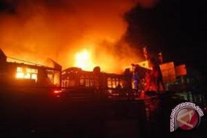 Pasar tradisional di Buleleng terbakar