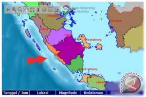 Gempa 5,5 SR guncang Kaur