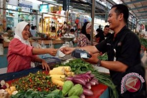 Pengembangan pasar pagardewa lamban