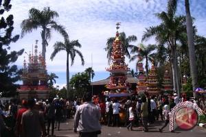 Ribuan warga Bengkulu saksikan 'Tabot Tebuang'